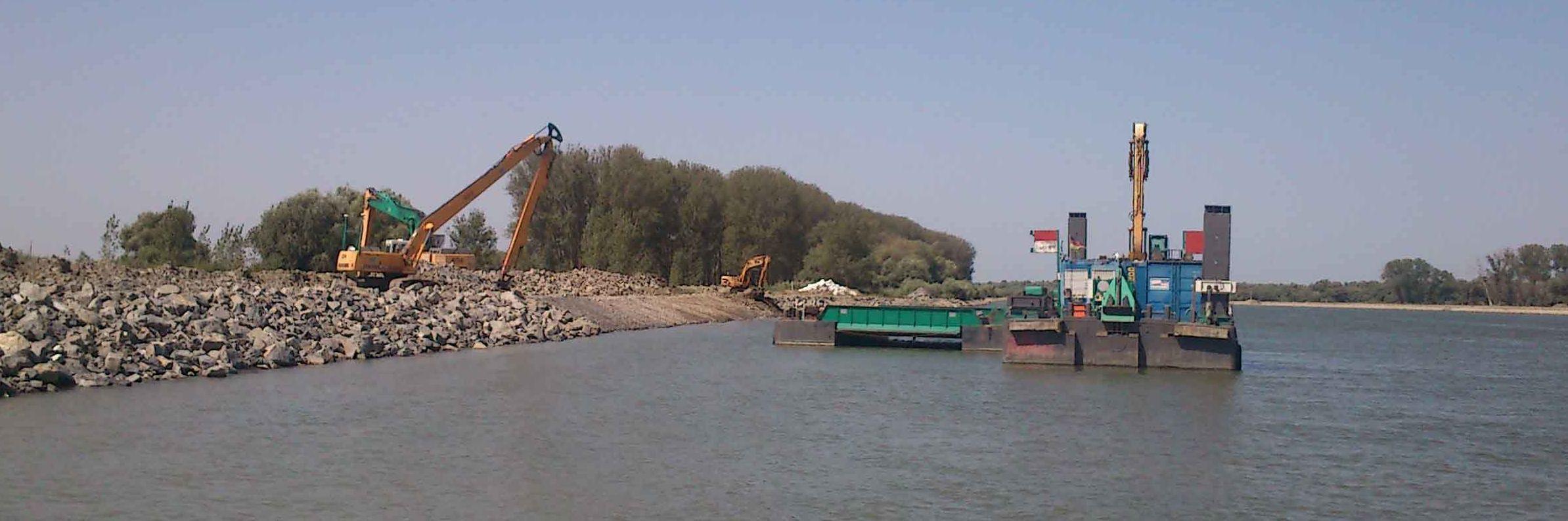 Erosionsschutz für Donaudelta in Rumänien Slider