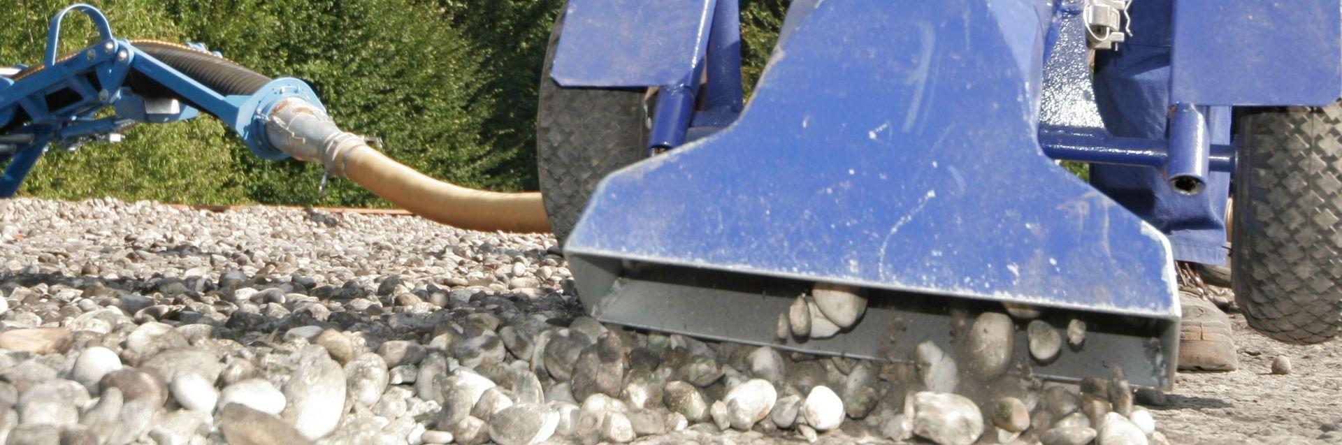 Effizienzsteigerung mit Saugbagger Slider