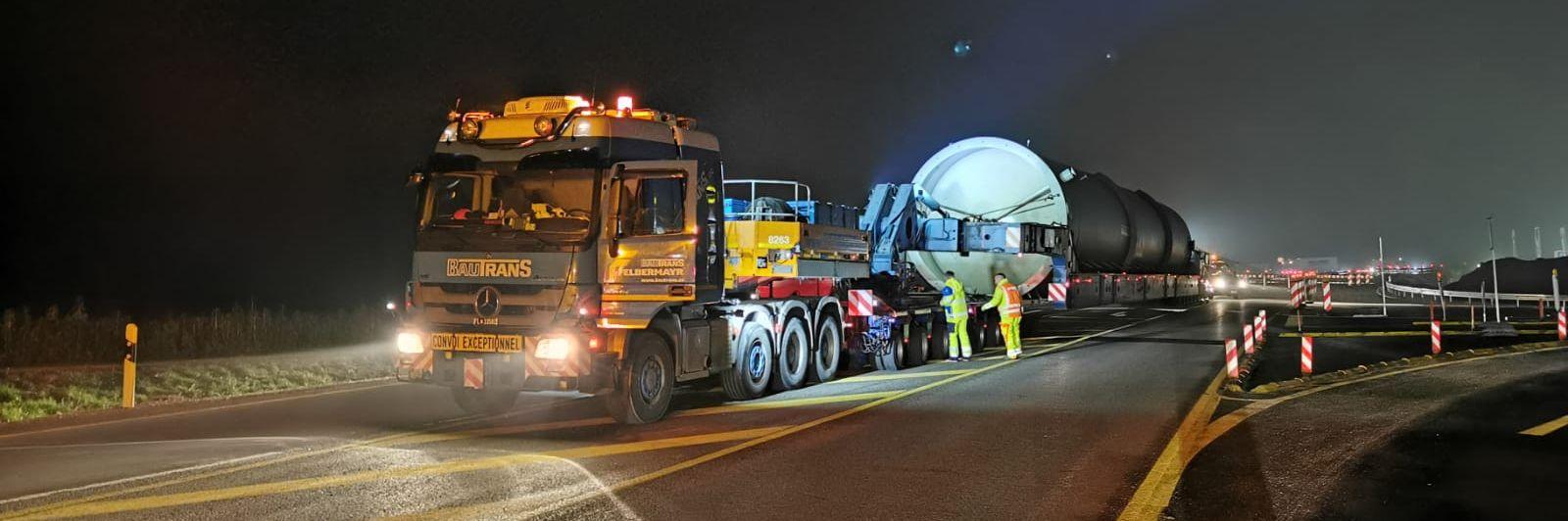Ťažká nákladná doprava pre ekologickú energiu Slider