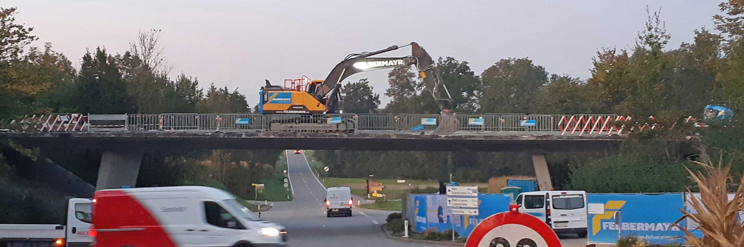Felbermayr-Ingenieurtiefbau für Brückensanierung Slider