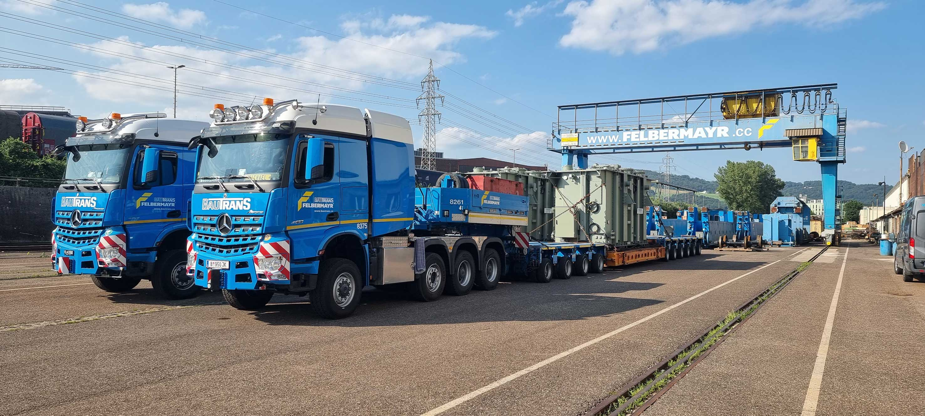 Major transport project successfully launched Slider