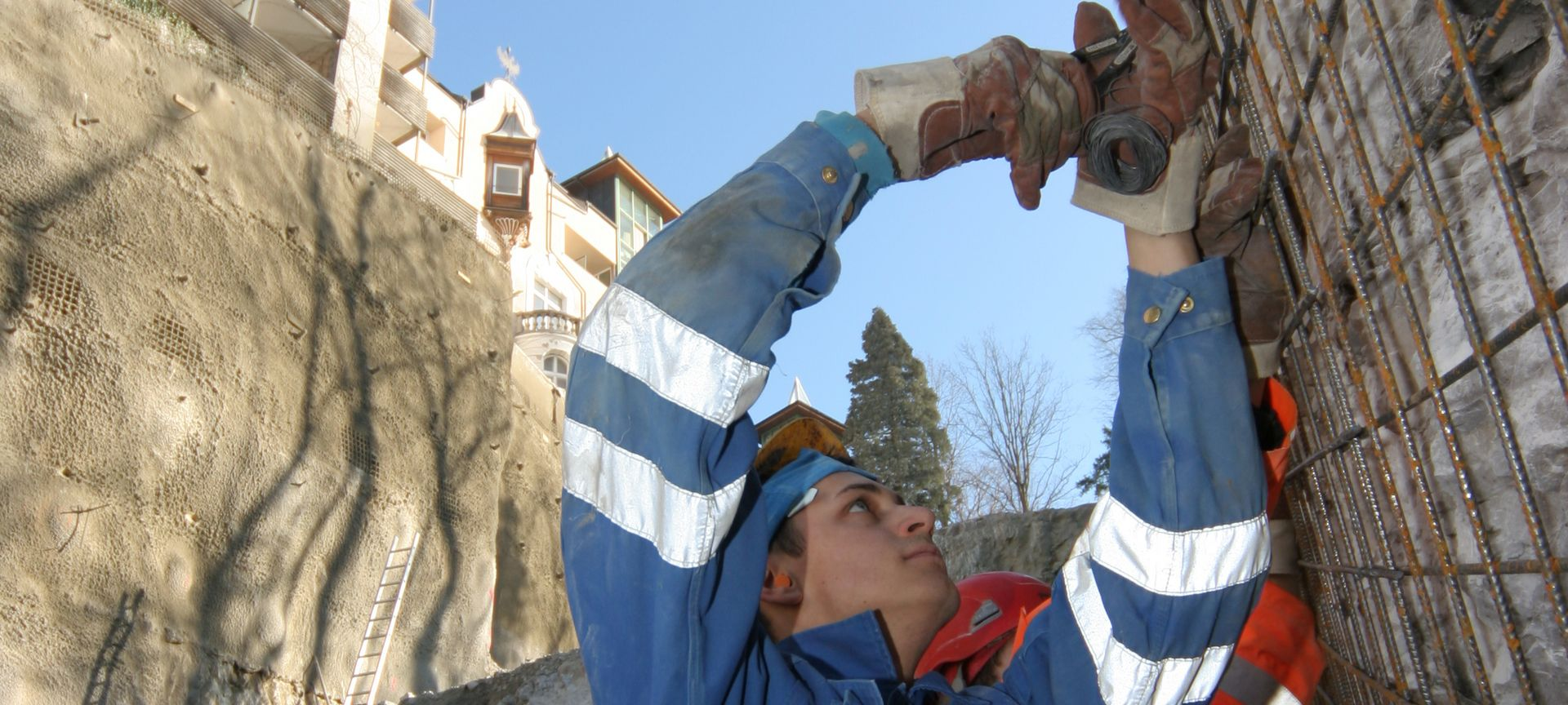 Baugrubensicherung auf hohem Niveau Slider