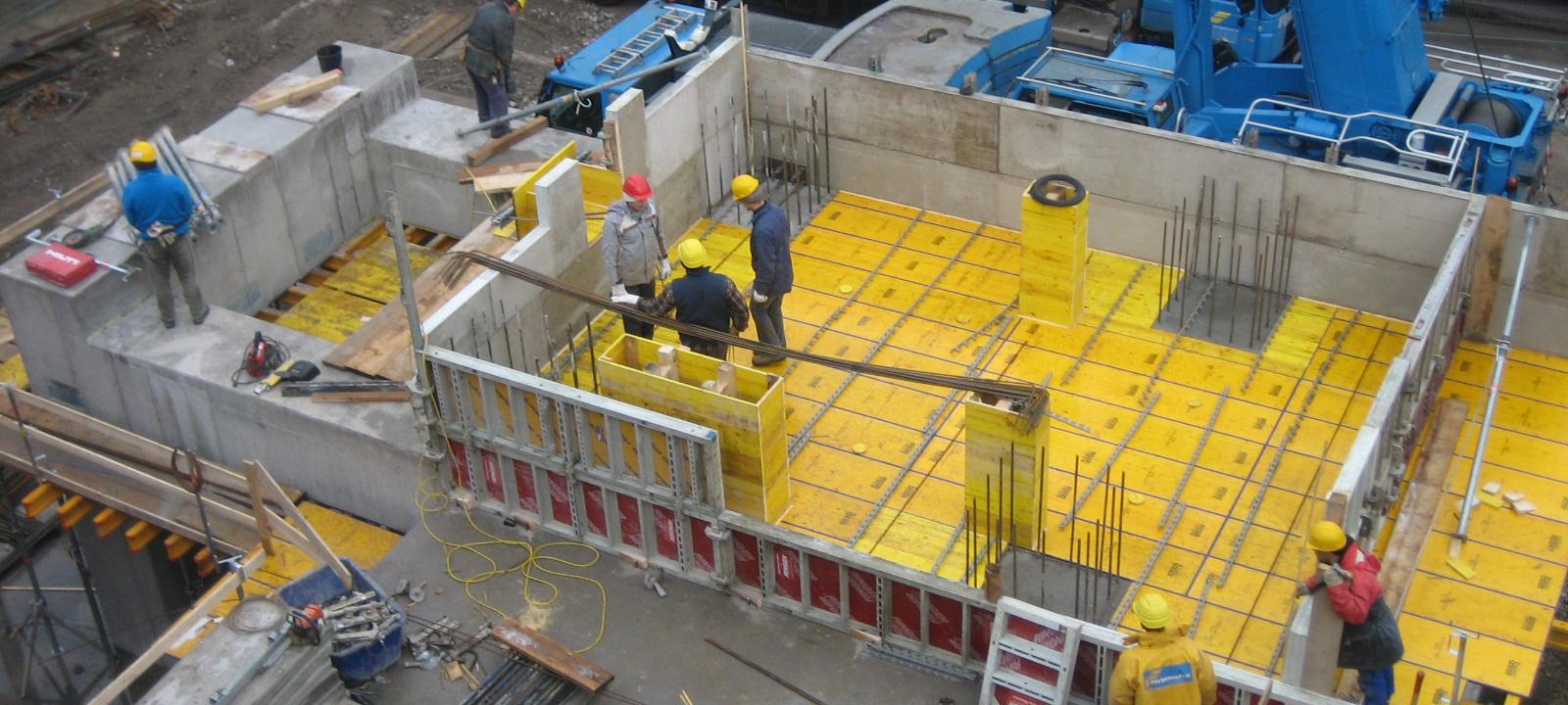 Hochbau für Luftzerlegungsanlage Slider