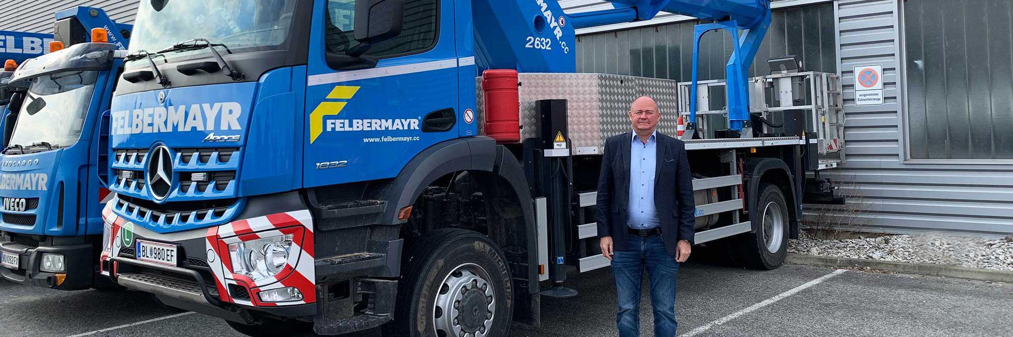 Închiriere platforme-Felbermayr în Viena/Lanzendorf sub noua conducere Slider
