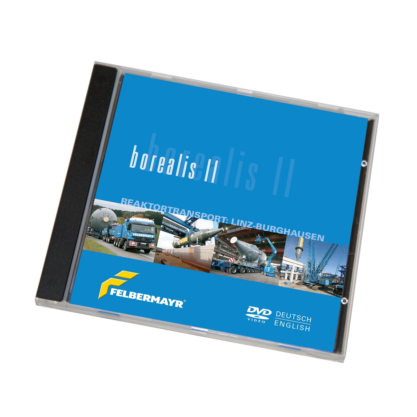 """DVD """"Borealis II - Reaktortransport: Linz-Burghausen"""""""
