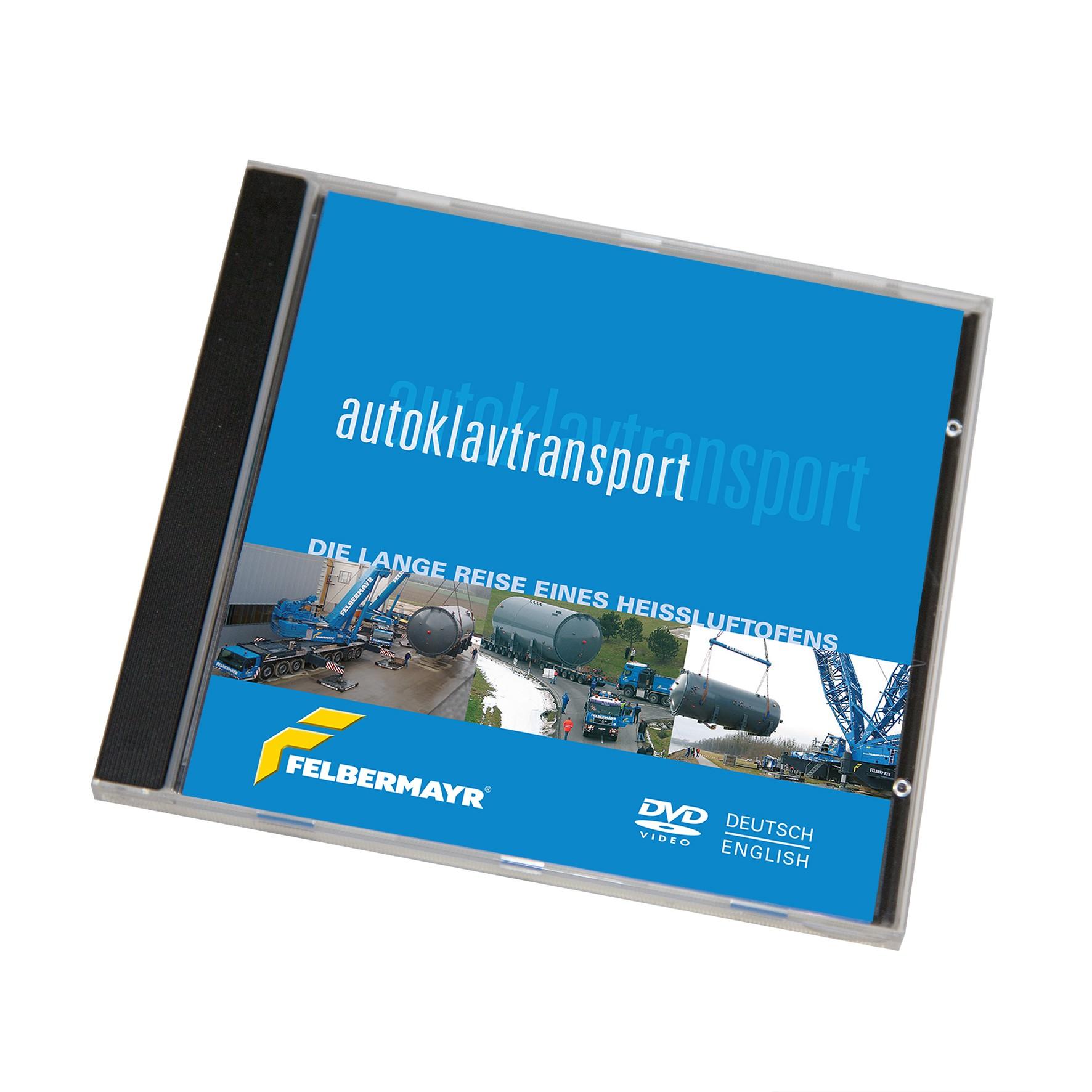 """DVD """"Autoklavtransport - Die lange Reise eines Heißluftofens"""""""