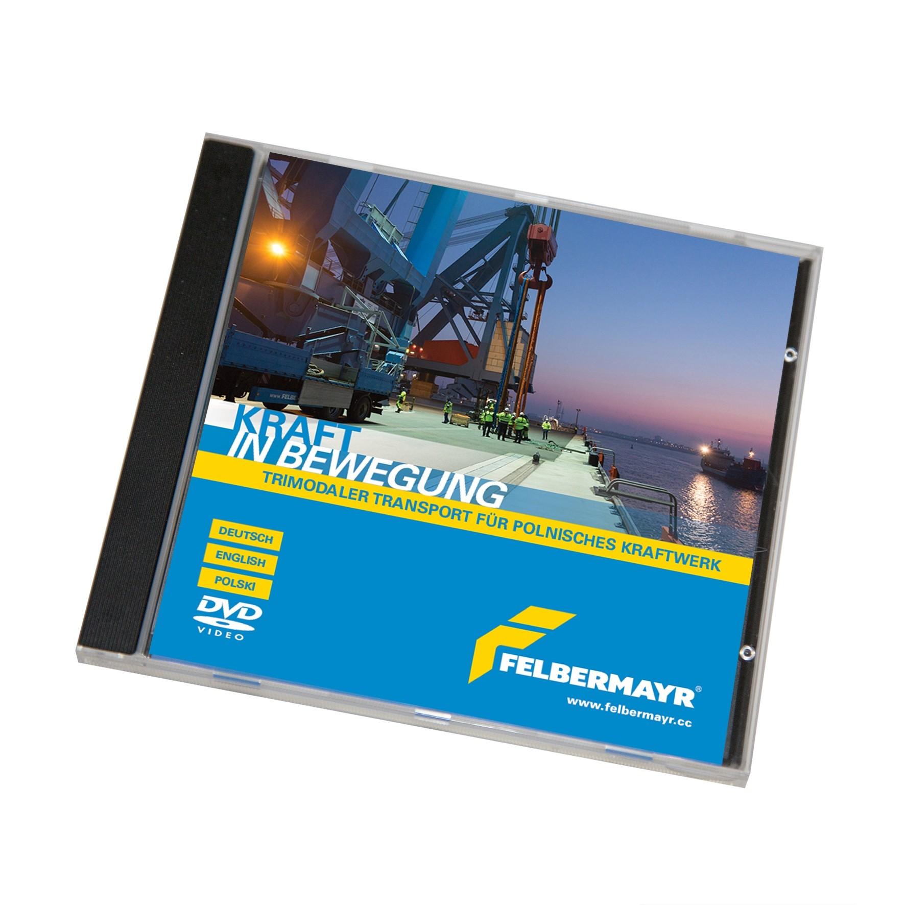 """DVD """"Trimodaler Transport für polnisches Kraftwerk"""""""