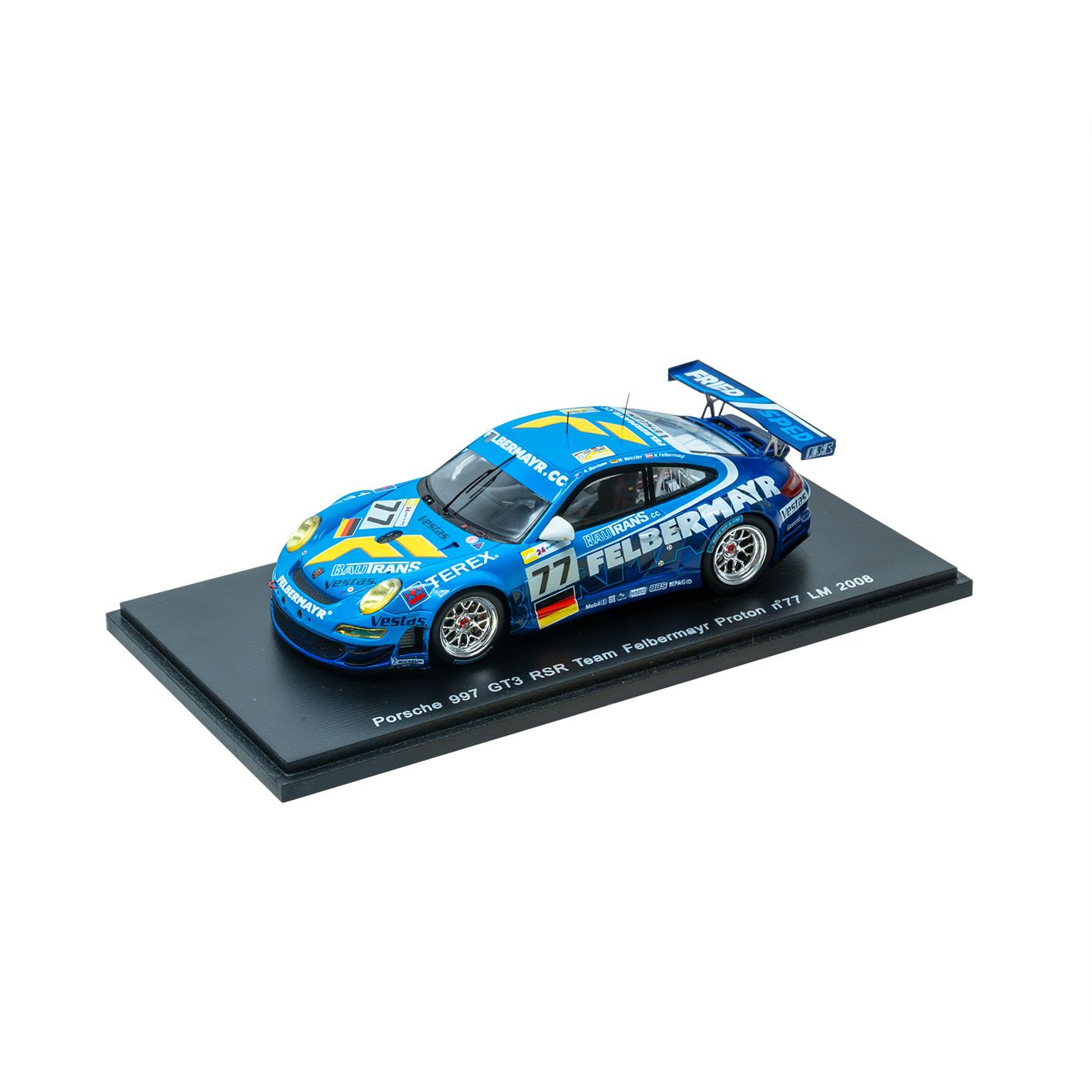"""Modell """"Porsche 911 (997) GT3 RSR Team Felbermayr-Proton N° 77"""""""