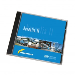 "DVD ""Borealis II - Reaktortransport: Linz-Burghausen"""