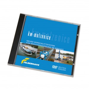 """DVD """"KW-Malzenice - Neues Verschlittsystem für Brückenquerung im Einsatz"""""""