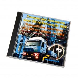 """DVD """"Transport und Einbringung einer 285-to-Kolonne für OMV"""""""