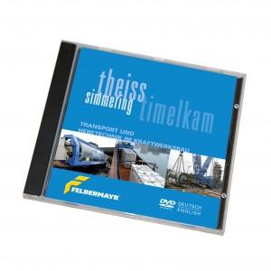"""DVD """"Simmering/Theiss/Timelkam - Transport und Hebetechnik im Kraftwerksbau"""""""