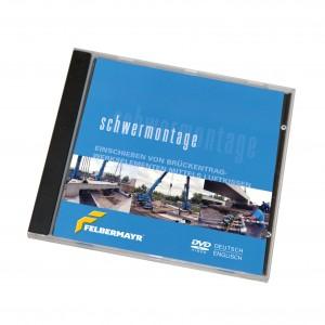 """DVD """"Schwermontage - Einschieben von Brückentragwerkselementen mittels Luftkissen"""""""